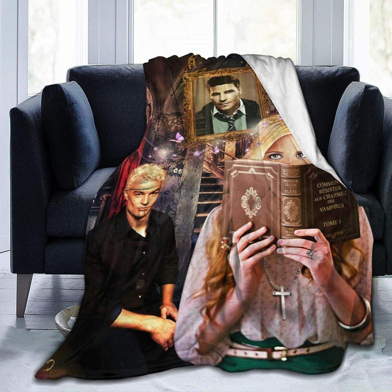 Buffy The 卓越 お見舞い Vampire Slayer Blanket Fleece Throw Blank Soft Flannel