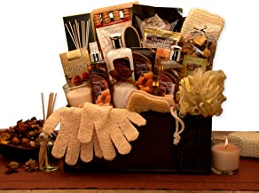 Spa Gift Basket for Women with Vanilla & Caramel Cream Home Spa Gift Basket