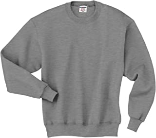 Jerzees 9.5 oz. 50/50 Super Sweats NuBlend Fleece Crew