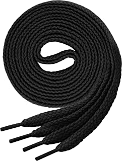 Lacets renforc/és et ultra r/ésistants pour Bottes Bottines Miscly Lacets ronds pour bottes /Ø 5 mm 3 Paires Chaussures de marche Chaussures de s/écurit/é ou de travail