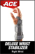 Best ACE Deluxe Wrist Stabilizer, Right Hand, Helps Relieve Symptoms of Carpal Tunnel Syndrome, Doctor Developed, Adjustable, Stabilizing, Firm Support, Professional Reviews