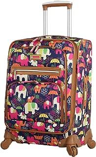 nicole miller isosceles luggage