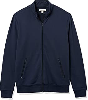 Goodthreads Giacca Leggera in Spugna Francese Athletic-Warm-up-And-Track-Jackets Uomo