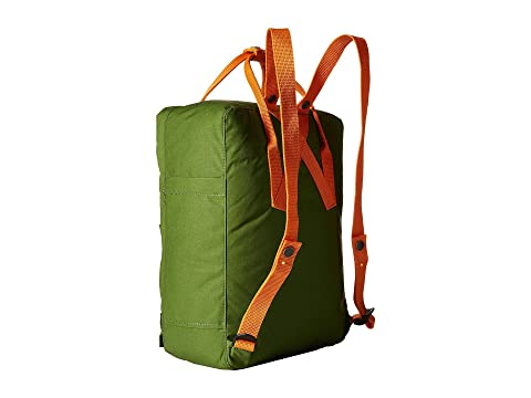 Fjällräven Kånken Leaf Green/Burnt Orange Cheap Sale Recommend eGXCR2F