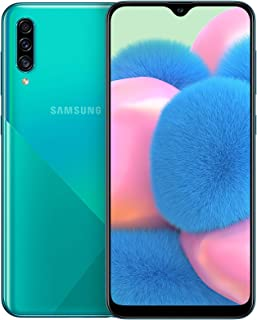 Samsung Galaxy A30s Dual SIM - 128GB, 4GB RAM, 4G LTE - Green, UAE Version