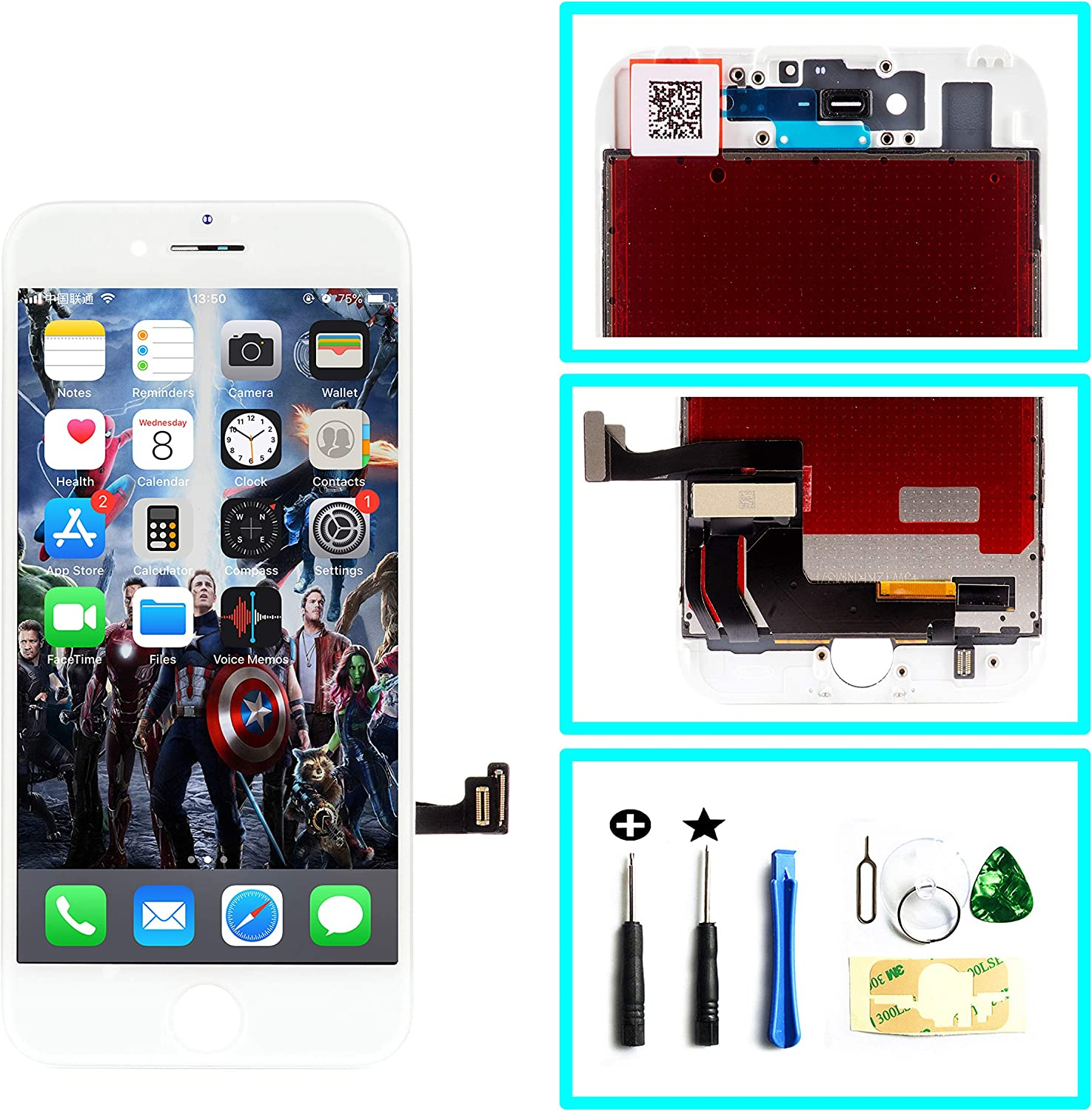 Arlington Mall Replacement Digitizer Touch Screen LCD Super special price iPho Assembly Display for