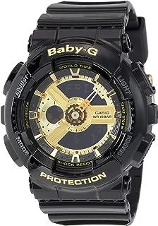Casio Baby G Women BA110-1A Year-Round Analog-Digital Automatic Black Watch