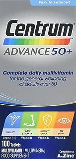 Centrum Advance 50 Plus Multivitamin Tablets, Pack of 100
