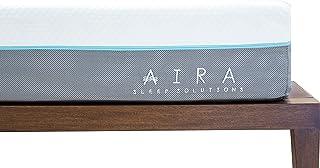 "AIRA Colchon Memory Foam 10"" (25cm) Anti acaros, Coo"