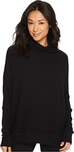 Michael Stars - Madison Brushed Long Sleeve Dolman Mock Neck