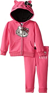 Baby Girls' 2pc Hoodie and Pants Set