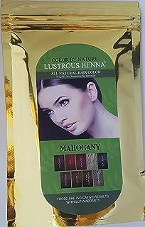 Lustrous Henna Mahogany - 100 Grams