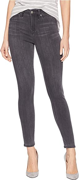 Bridget High-Waist Ankle in Silky Soft Stretch Denim in Meteorite