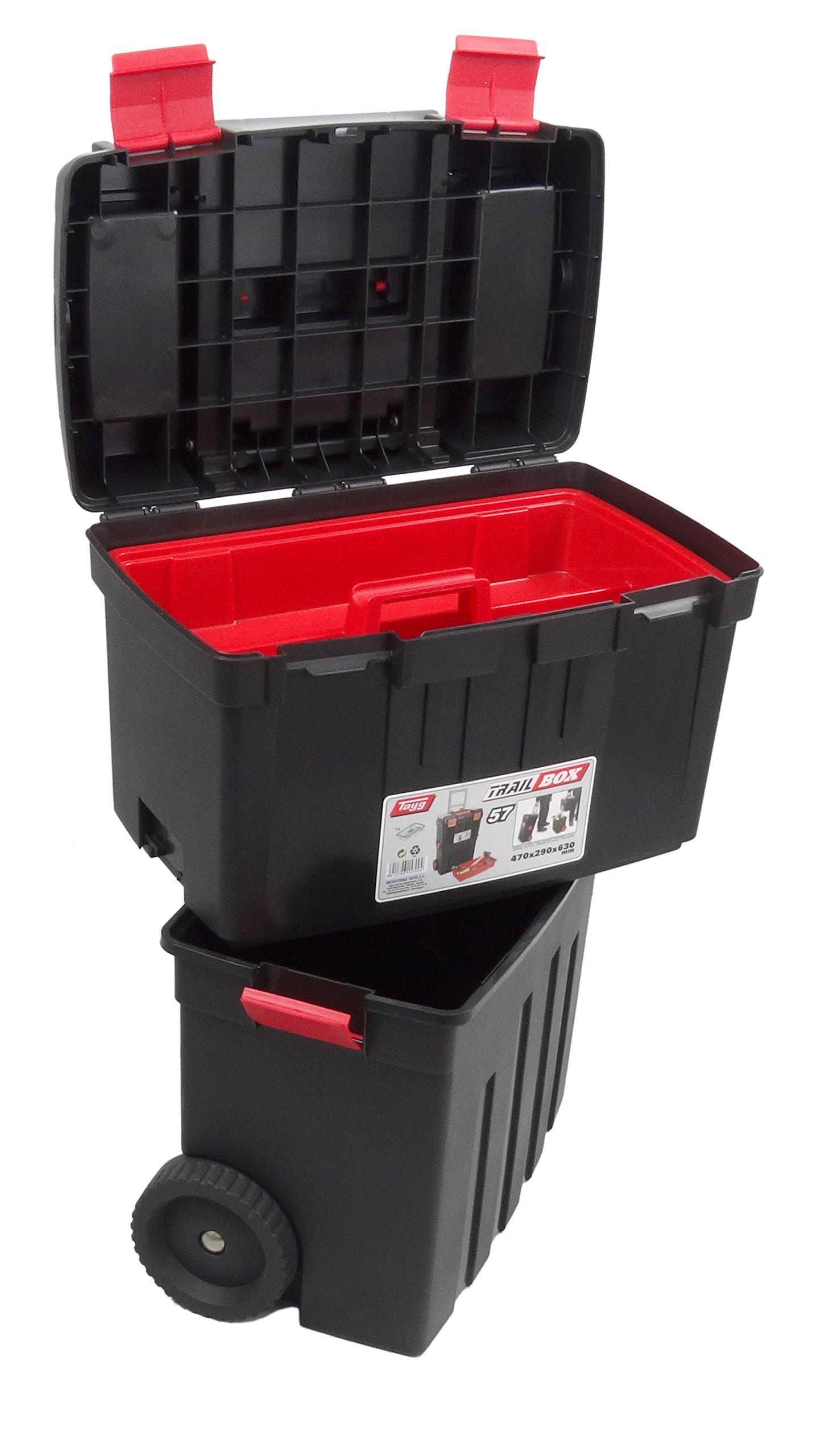 Tayg M255707 - Carro herramientas trail box profesional n.57 ...