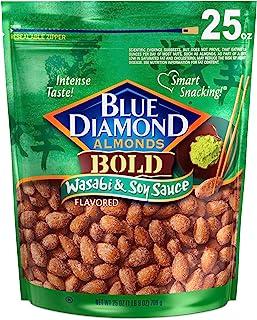 Blue Diamond Almonds, Wasabi & Soy Sauce, 25 Ounce