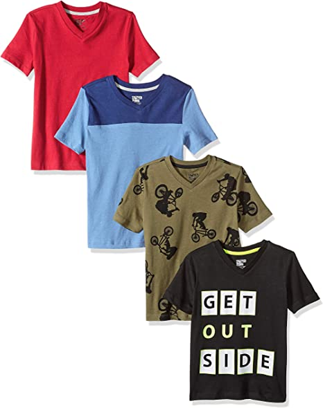 Marca Spotted Zebra 5-Pack Short-Sleeve T-Shirts Ni/ños