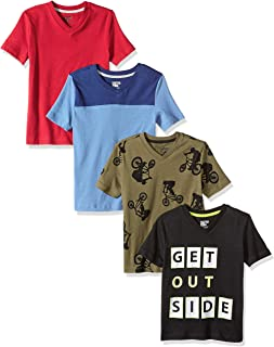 MY-Fish Black Raglan T-Shirts Short Sleeve Hibiscus Sports Sweat Tee for Kids Boys Girls