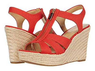 MICHAEL Michael Kors Berkley Wedge (Dark Persimmon) Women