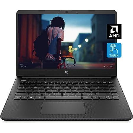 HP 14 Laptop, AMD 3020e, 4 GB RAM, 64 GB eMMC Storage, 14-inch HD Touchscreen, Windows 10 Home in S Mode, Long Battery Life, Microsoft 365, (14-fq0050nr, 2020)