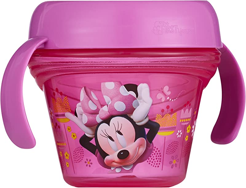 The First Years Disney Baby Minnie Mouse Spill Proof Snack Bowl