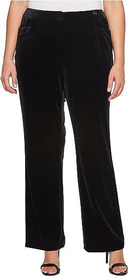 Calvin Klein Plus - Plus Size Velvet Pants