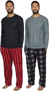 mens silk pajamas sets