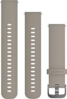 GARMIN(ガーミン) Quick Release バンド 20mm SandstoneSlate シリコン 010-12691-19