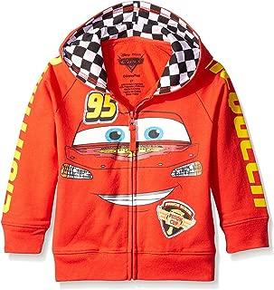 Disney Boys Cars '95 Hoodie Hooded Sweatshirt - red