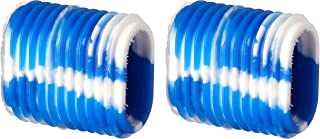 Reel Grip 1149 Reel Handle Cover, Blue and White Tie Dye Finish