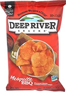 Deep River Mesquite BBQ Kettle Chips, 5 oz