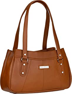 Aisna Women's Daisy Handbag(ASN-191)(Tan)