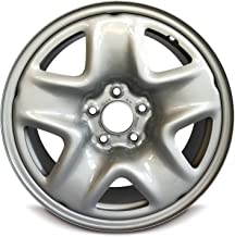 Road Ready Car Wheel For 2013-2016 Mazda CX-5 17 Inch 5 Lug Gray Steel Rim Fits R17 Tire - Exact OEM Replacement - Full-Size Spare