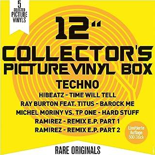12Inch Collector's Picture Vinyl Box - Techno (5Lp)