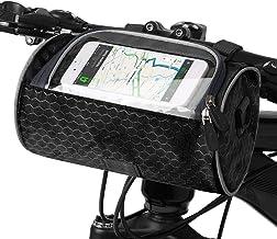 Lixada Stuurtas, waterdicht, voorvak voor fiets, telefoonhouder met touchscreen, tas, 22 x 12 cm