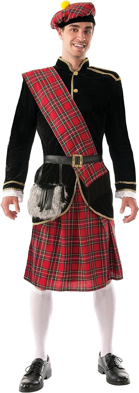 2021 spring and summer new Forum Novelties Discount is also underway Men's Scotsman Costume