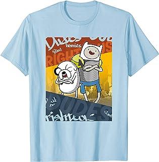 Cartoon Network Adventure Time Righteous Dudes T-Shirt