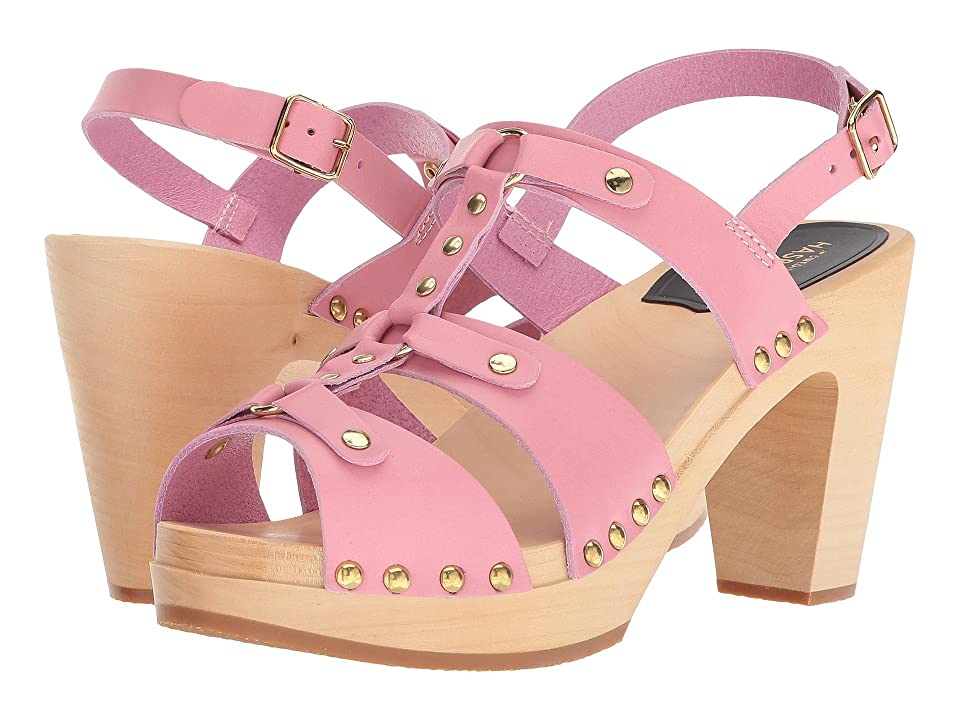 Swedish Hasbeens Brassy (Bubble Gum Pink) High Heels