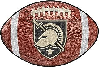 FANMATS NCAA US Military Academy Black Knights Nylon Face Football Rug