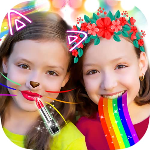 Crazy Rainbow Selfie Lense Camera Girl Makeup Cam