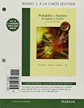 Probability & Statistics for Engineers & Scientists, MyLab Statistics Update, Books a la Carte Edition (9th Edition)
