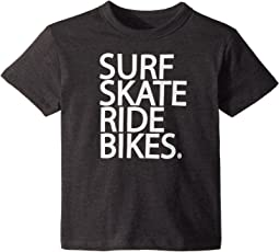 Vintage Jersey Surf Skate Bike Tee (Toddler/Little Kids)