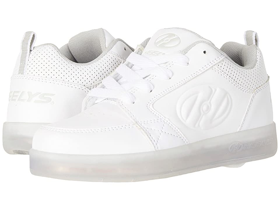 Heelys Premium 1 Lo (Little Kid/Big Kid/Adult) (White) Kids Shoes