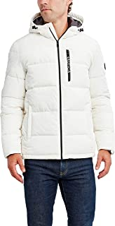 Nautica mens Water Resistant Hooded Parka Jacket