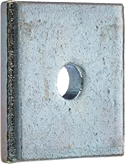 """VERSABAR VF-1101-1//4-SS SQUARE WASHER 1//4/"""" CLEARANCE HOLE STAINLESS STEEL 304 25//BX"""