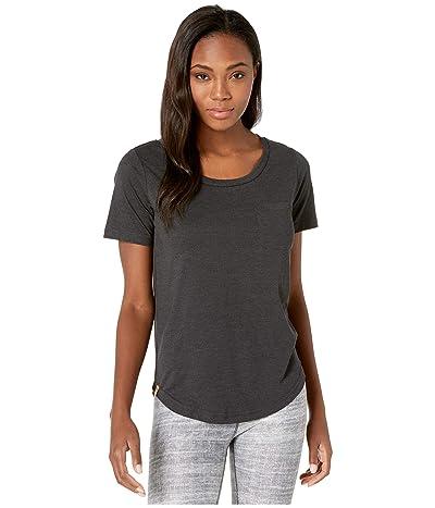 tentree Pocket Short Sleeve Tee (Meteorite Black Heather) Women