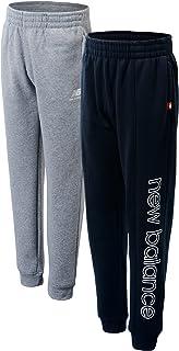 Boys' Active Sweatpants - 2 Pack Performance Fleece...
