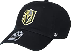 '47 NHL Las Vegas Golden Knights Clean Up Adjustable Hat, One Size, Black