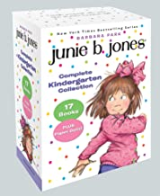 Junie B. Jones Complete Kindergarten Collection: Books 1-17 with paper dolls in boxed set