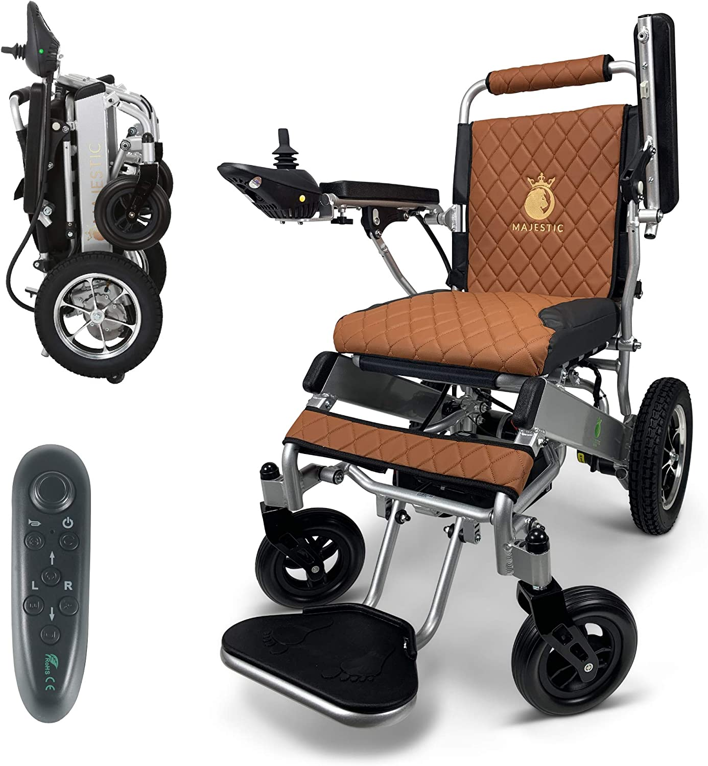 2020 Limited Edition New products world's highest Memphis Mall quality popular Remote Foldable Control Wheelchair Electric