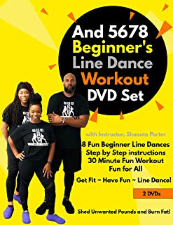And 5678 Beginner's Line Dance Workout DVD Set